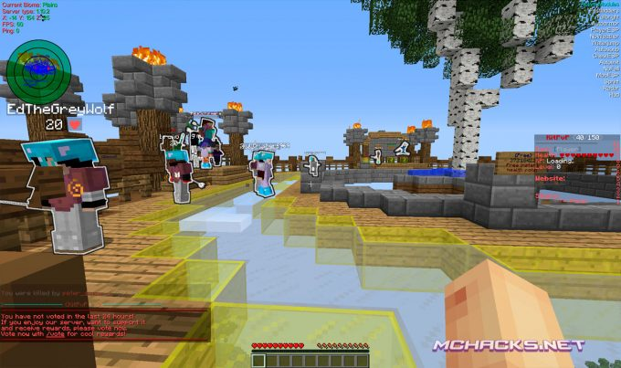 Download Aristois Hacked Client for Minecraft 1.12.2