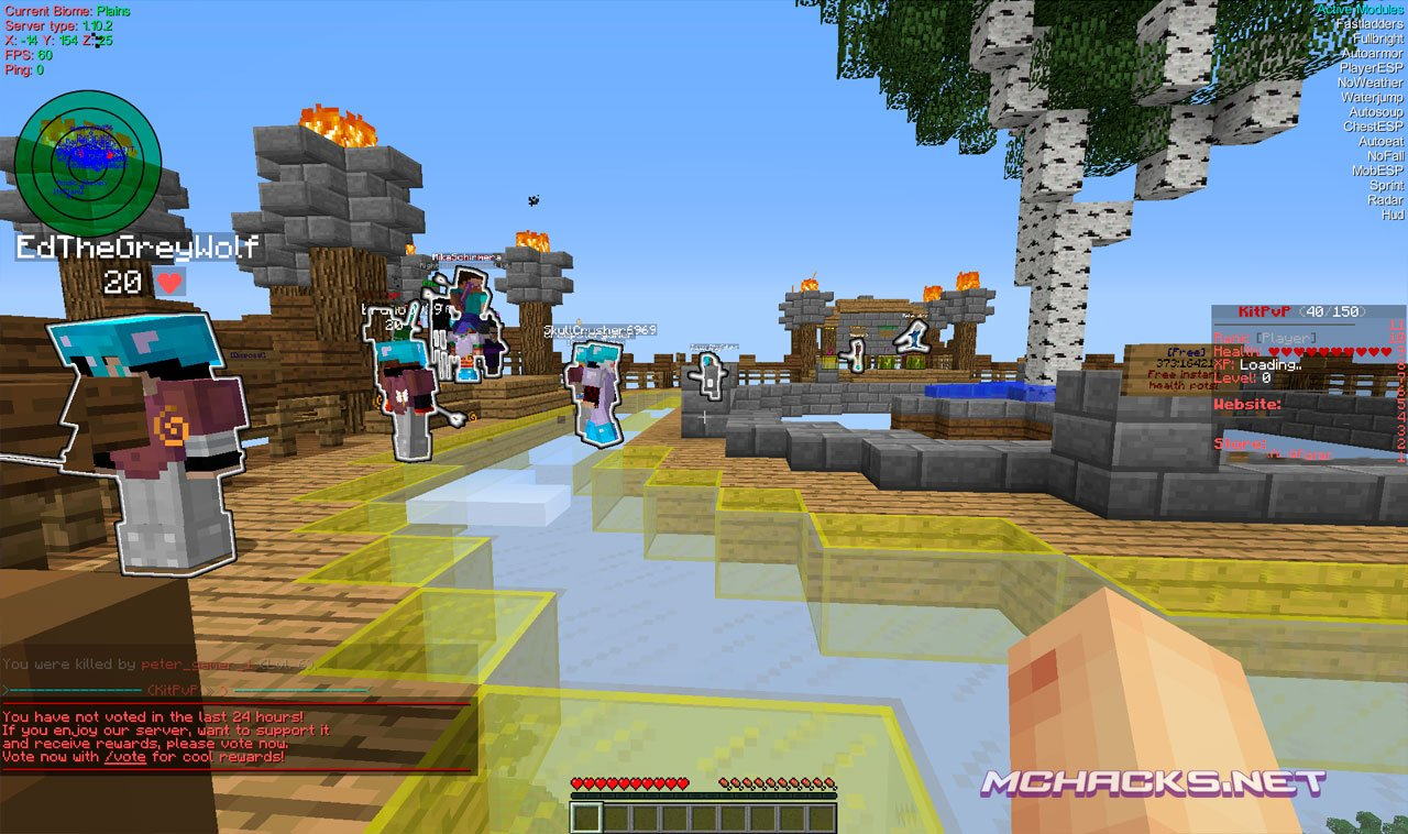 Download Minecraft 1 10 2 Realms Hacked Client - Aristois