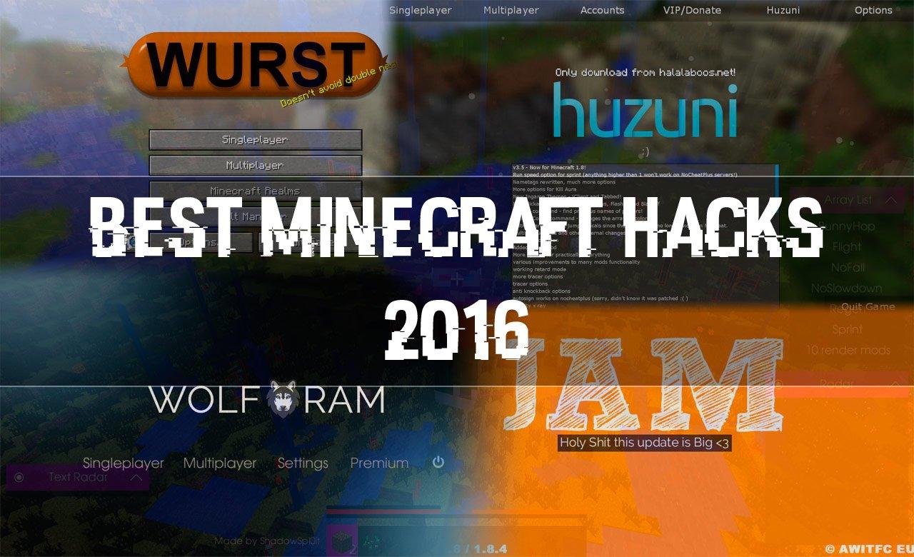 Download The Best Minecraft Hacks of 2016