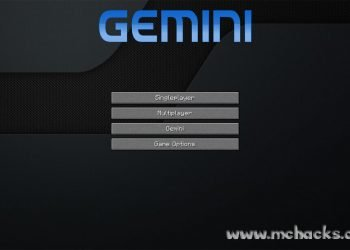Gemini Hacked Client for Minecraft 1.7.2/1.6.4 (w/ OptiFine)