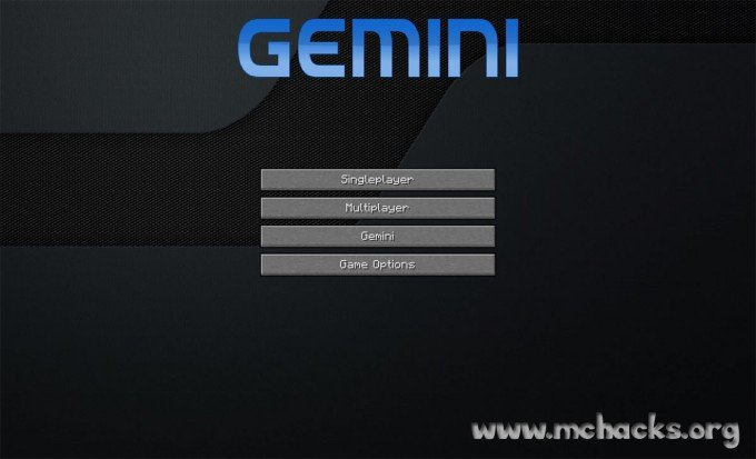 Gemini Client splash screen