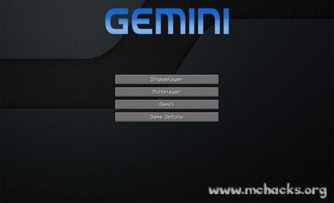Gemini Client splash screen