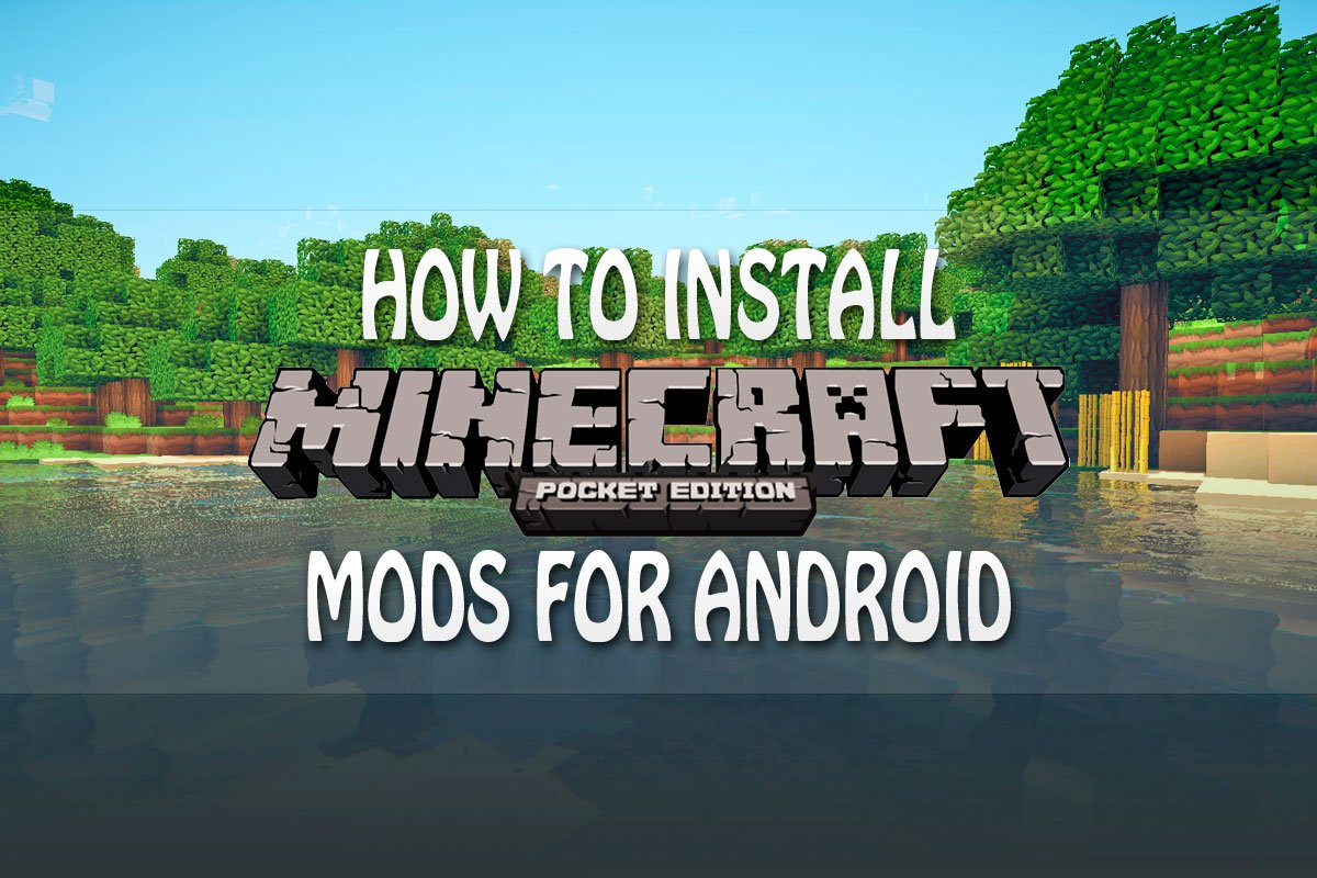how to install mcpe mods