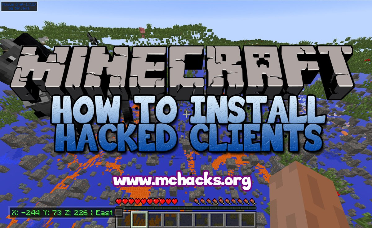 How To Install Hacked Clients for Minecraft Launcher