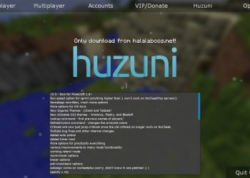 Huzuni Hacked Client for 1.8.X