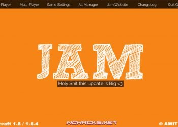 Minecraft JAM Hacked Client for 1.8.X