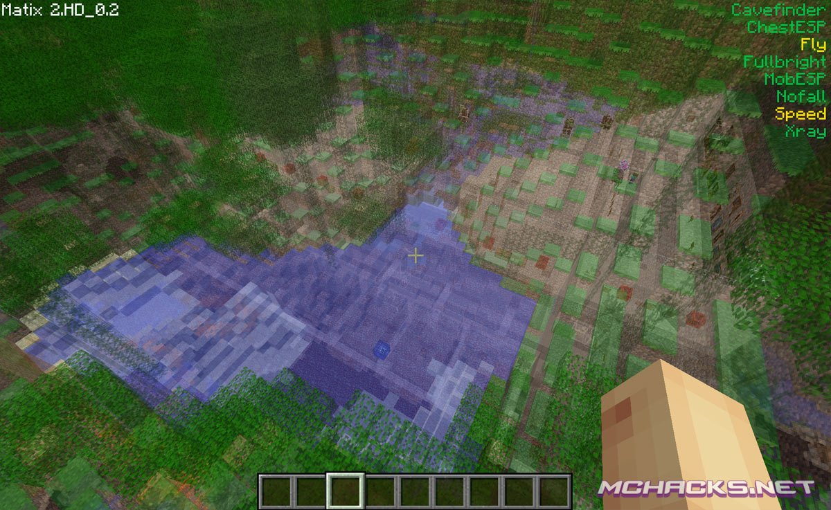Matix Hacked Client Download for Minecraft 1 7 4/1 7 2