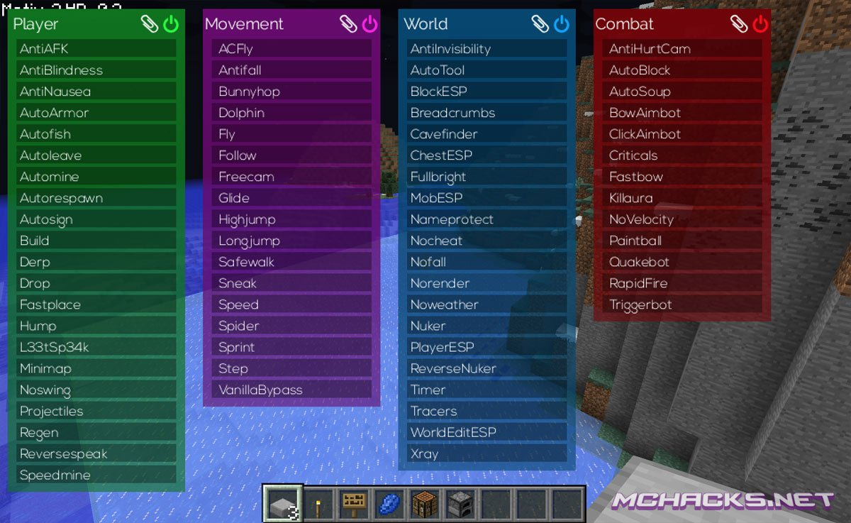 Matix Hacked Client Download for Minecraft 1.7.4/1.7.2