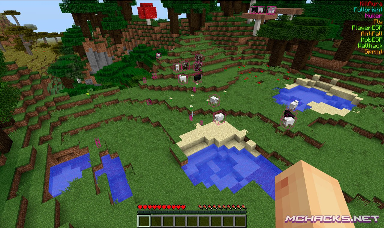 Matix Hacked Client | Download for Minecraft 1.9