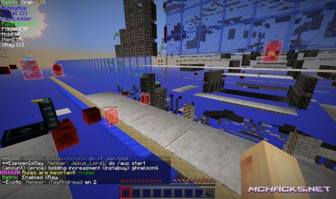 Download Matrix Hacked Client for Minecraft