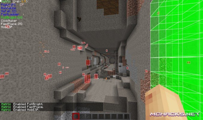 Matrix Hacked Client for Minecraft