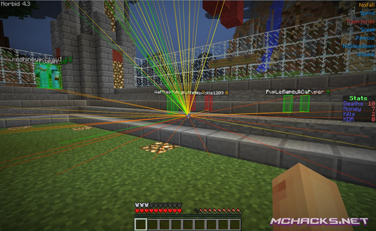 Morbid Hacked Client Download for Minecraft 1.7.2