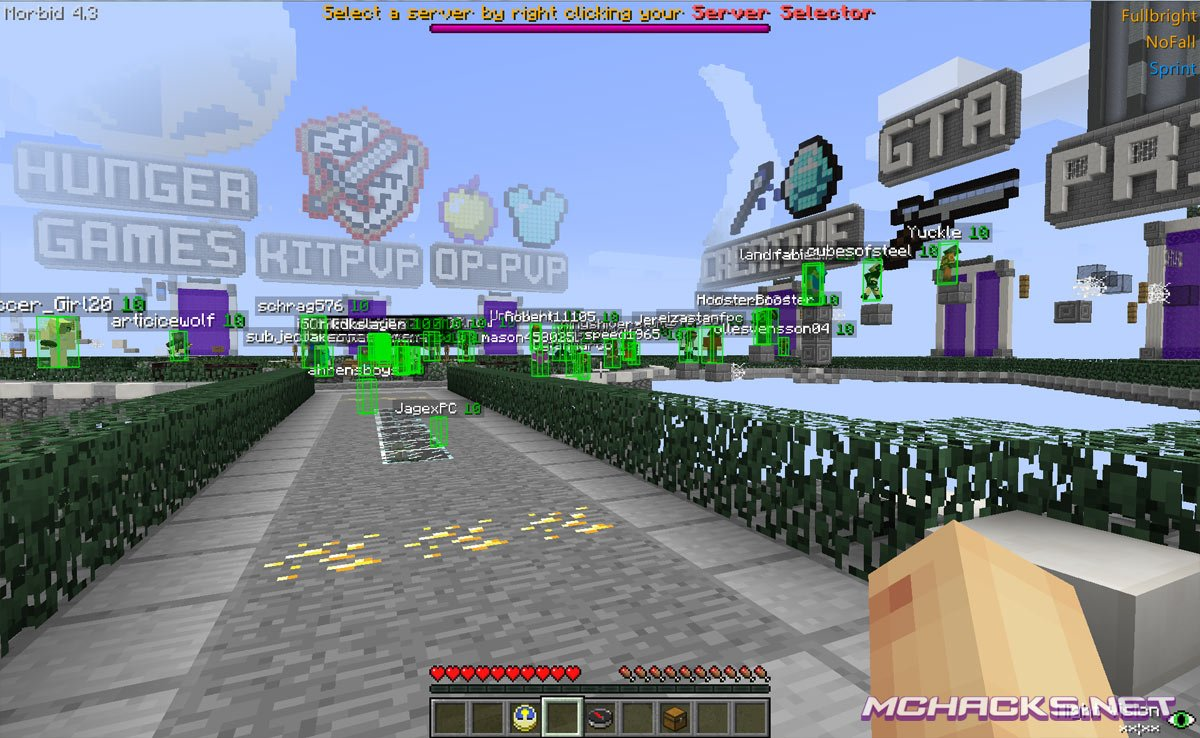 Morbid hacked client download for minecraft 1. 7. 2.
