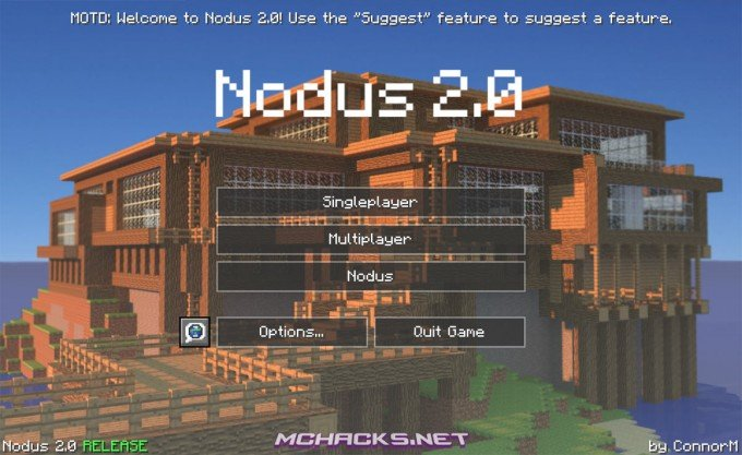 Nodus 2.0 hacked client for Minecraft