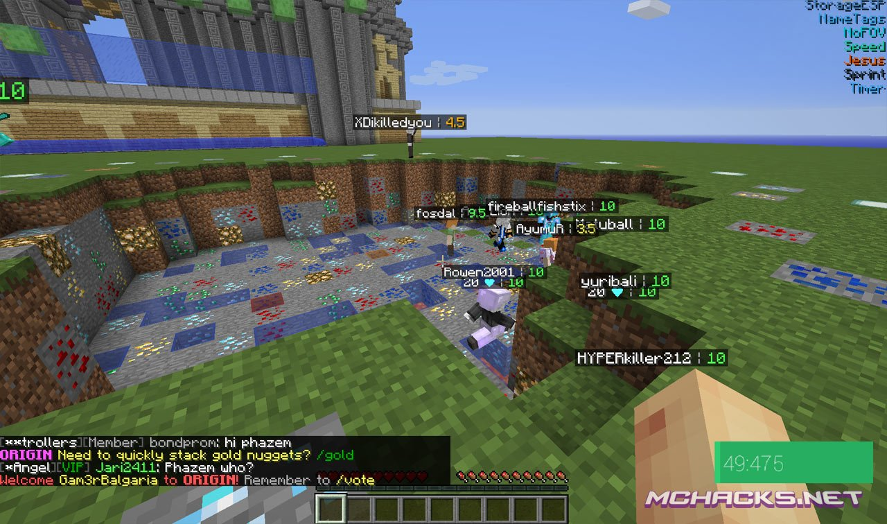 Null Hacked Client w/OptiFine   Download for Minecraft 1.8.8