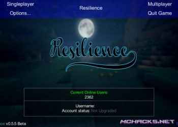 Resilience Hacked Client w/ OptiFine for Minecraft 1.7.4/1.7.2
