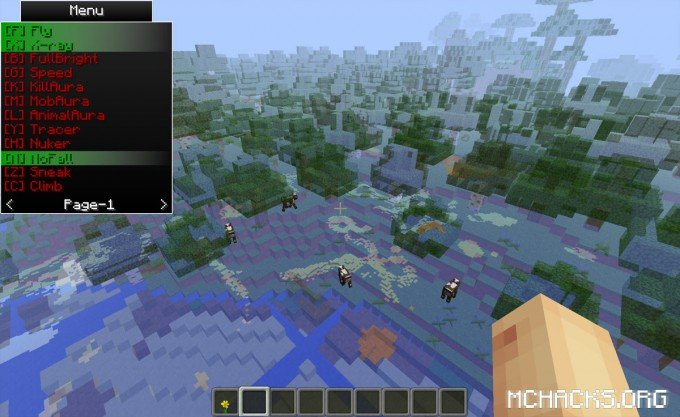 Rubix Hacked Client for Minecraft