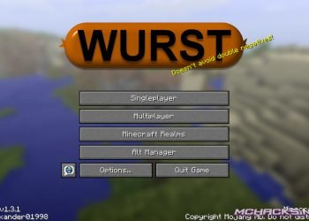 Wurst 3.1 for Minecraft 1.9