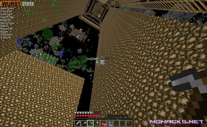 Wurst Minecraft Hack