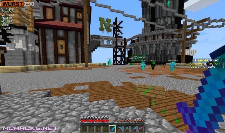 Minecraft 1.12.1 Hacked Client | Download Wurst 6.11.1